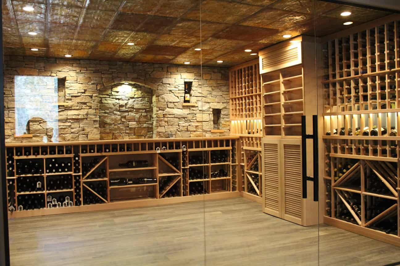 Denver Wine Storage Room