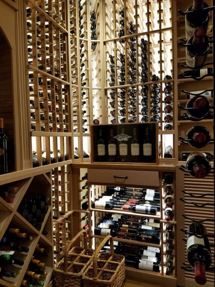Commercial Wine cellar design in Denver